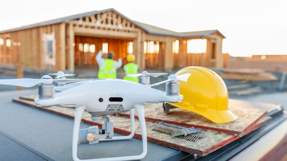 Como o uso de drones pode aumentar a segurança na construção civil?