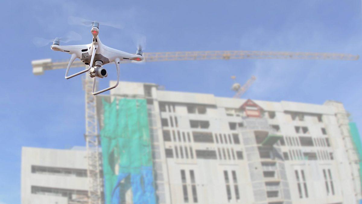 Drones e mercado imobiliário: entenda como é essa relação