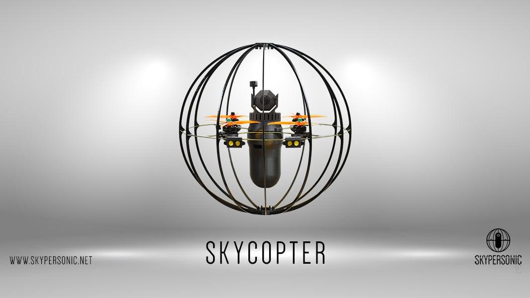 Skycopter Pro, DR1 traz novo drone para realizar Inspeções de Espaço Confinado